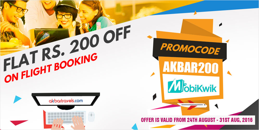 Promo Code For Akbar Travels International Flight