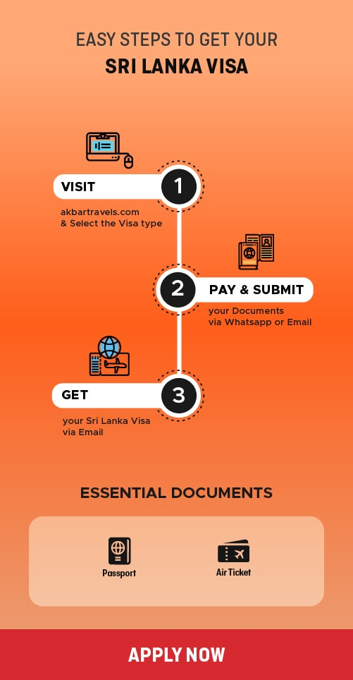 Sri Lanka Visa process and requirements